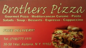 BRODHERS PIZZA & RESTAURANT-ASTORIA