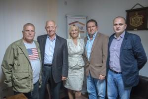 Podpredsjednica vlade Crne Gore Azra Jesavic i predstavnici Fondacije Gusinje
