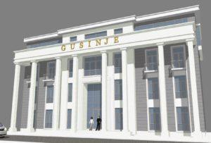 Projekat opštinske zgrade u Gusinju